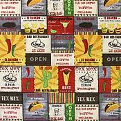 Материалы для творчества ручной работы. Ярмарка Мастеров - ручная работа ткань MEXICO. Handmade.