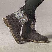 """Обувь ручной работы. Ярмарка Мастеров - ручная работа Валенки """"Кружева"""". Handmade."""