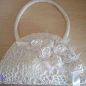 Сумки и аксессуары handmade. Livemaster - original item Wedding purse