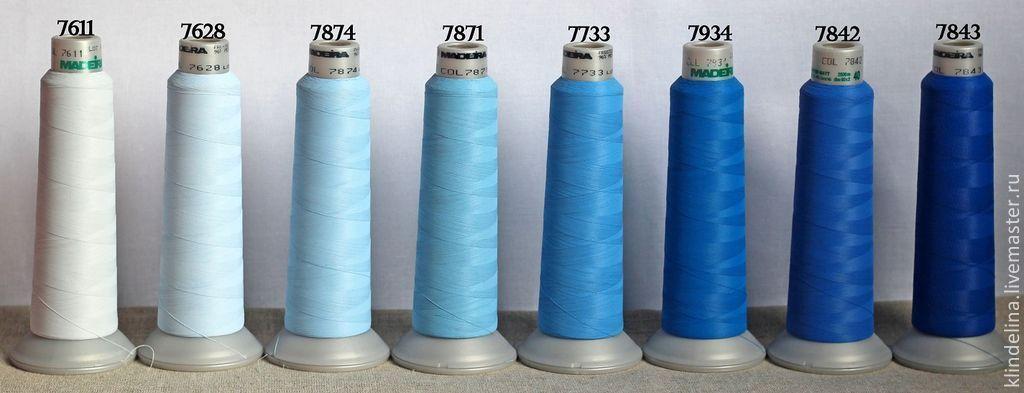 Мадейра для машинной вышивки