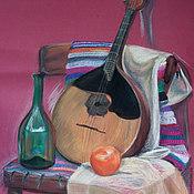 """Картины и панно ручной работы. Ярмарка Мастеров - ручная работа Натюрморт пастелью """"Мексиканские мотивы"""". Handmade."""
