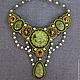 """Колье, бусы ручной работы. Колье """"Fairy forest"""". Dreams in beads (Екатерина). Интернет-магазин Ярмарка Мастеров."""