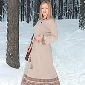 Одежда ручной работы. Ярмарка Мастеров - ручная работа платье вязаное Мария. Handmade.