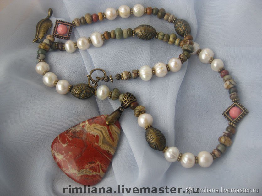 Vintage Style set-Necklace with pendant and earrings, Jewelry Sets, Moscow,  Фото №1