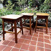 Для дома и интерьера handmade. Livemaster - original item High stool with thread. Handmade.