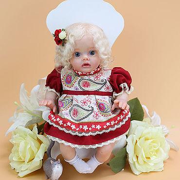 Куклы и игрушки ручной работы. Ярмарка Мастеров - ручная работа Куклы: Flo by Natali Blick. Handmade.