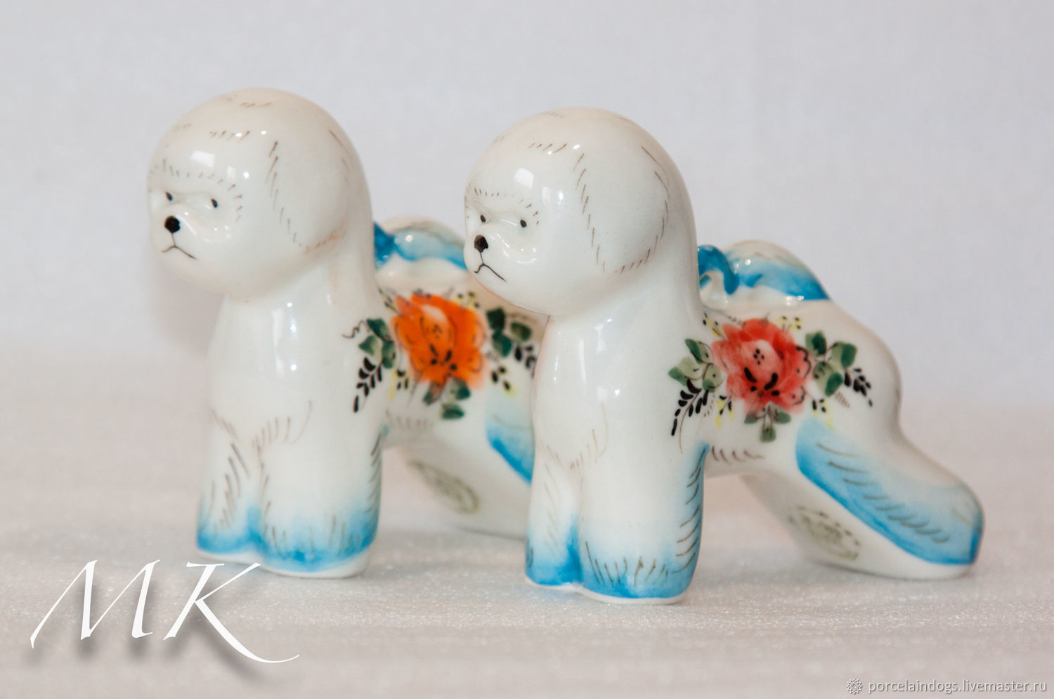 Christmas toy Bichon (spring painting), Christmas decorations, Moscow,  Фото №1