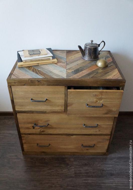Мебель ручной работы. Ярмарка Мастеров - ручная работа. Купить Комод, тумба из массива дерева. Handmade. Комод, комод из дерева
