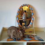 """Для дома и интерьера ручной работы. Ярмарка Мастеров - ручная работа """"Алиса"""" комод и зеркало. Handmade."""