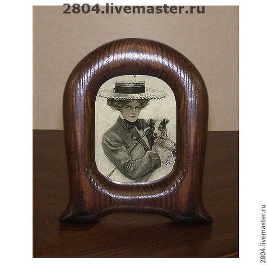 """Фоторамки ручной работы. Ярмарка Мастеров - ручная работа. Купить Рамка """"Фото на память"""" Рамочка деревянная настольная ручной работы. Handmade."""