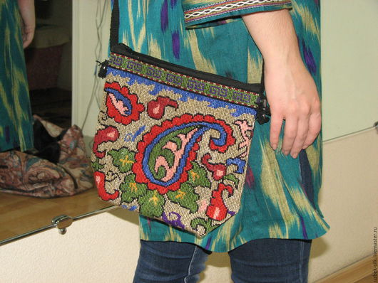 Женские сумки ручной работы. Ярмарка Мастеров - ручная работа. Купить Сумка женская. Handmade. Разноцветный, вышивка