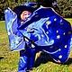 Карнавальные костюмы ручной работы. Ярмарка Мастеров - ручная работа. Купить Звездочёт. Детский карнавальный костюм синего цвета... Handmade.