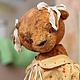 Мишки Тедди ручной работы. Ярмарка Мастеров - ручная работа. Купить Тася.. Handmade. Разноцветный, винтажная фурнитура