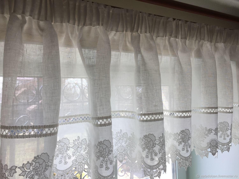A Valance ' Linen & Cambric', Curtains, Ivanovo,  Фото №1