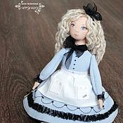 Куклы и игрушки handmade. Livemaster - original item Alice in Wonderland, the author`s textile doll as a gift, OOAK. Handmade.