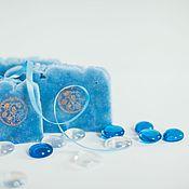 Косметика ручной работы handmade. Livemaster - original item Soap from scratch, natural handmade Cornflower blue. Handmade.