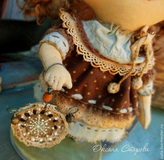 Коллекционные куклы ручной работы. Ярмарка Мастеров - ручная работа. Купить В этот день случится чудо.... Handmade. Коричневый, чудо