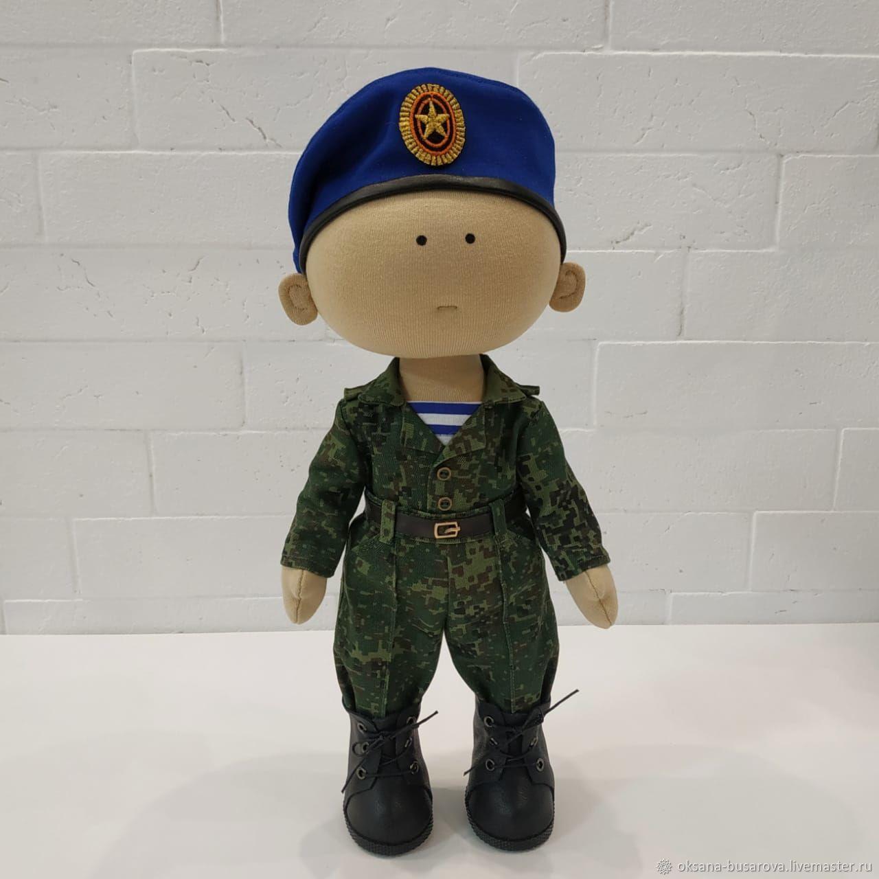 Серьёзный парень, Военная миниатюра, Щелково,  Фото №1