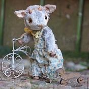 Куклы и игрушки ручной работы. Ярмарка Мастеров - ручная работа Козлик Никеша (Друзья Тедди). Handmade.