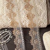 Материалы для творчества ручной работы. Ярмарка Мастеров - ручная работа Кружево макраме М79 кружево плетеное, кружево для отделки. Handmade.