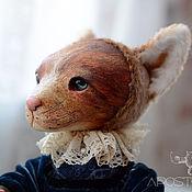 Куклы и игрушки ручной работы. Ярмарка Мастеров - ручная работа Кошка Летиция. Handmade.