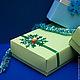 Подарочная упаковка ручной работы. Коробочки новогодние 15х12,5х5 см. Anna's boxes and greeting cards. Интернет-магазин Ярмарка Мастеров.