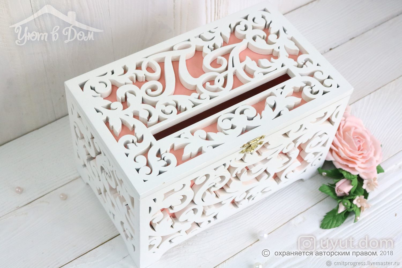 Wooden wedding Treasury ' Coral Reef', Chests, Dimitrovgrad,  Фото №1