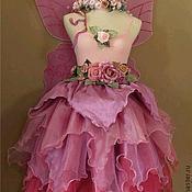 """Работы для детей, ручной работы. Ярмарка Мастеров - ручная работа Платья для девочки """"Лесная фея"""". Handmade."""