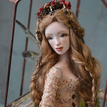 Куклы и игрушки ручной работы. Ярмарка Мастеров - ручная работа Куклы: Элуи. Фарфоровая шарнирная кукла. Handmade.