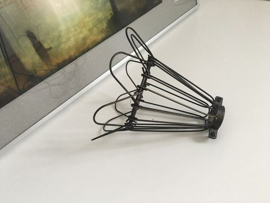 Другие виды рукоделия ручной работы. Ярмарка Мастеров - ручная работа. Купить Сетка абажур для создания индустриального светильника. Handmade.