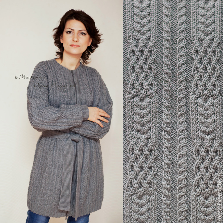 Knitted Coat Celtic Patterns Shop Online On Livemaster With