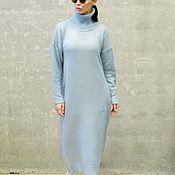 Одежда ручной работы. Ярмарка Мастеров - ручная работа Вязаное платье-свитер Motivi. Handmade.