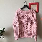 Одежда ручной работы. Ярмарка Мастеров - ручная работа Объемный свитер. Handmade.