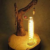 Для дома и интерьера ручной работы. Ярмарка Мастеров - ручная работа Светильник-ночник Шаманское дерево. Handmade.
