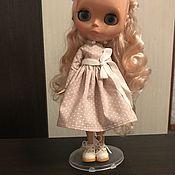 Куклы и игрушки ручной работы. Ярмарка Мастеров - ручная работа Платье для блайз. Handmade.