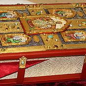 Канцелярские товары handmade. Livemaster - original item Handmade Books: Altar Gospel. Handmade.