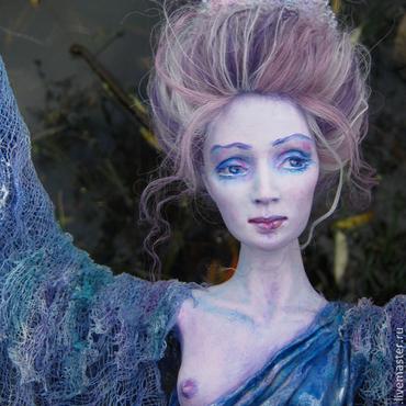 """Куклы и игрушки ручной работы. Ярмарка Мастеров - ручная работа Авторская кукла """"Ангел Воды"""". Handmade."""