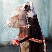Тильда Зверята ручной работы. Ярмарка Мастеров - ручная работа Подарочные интерьерные куклы. Handmade.