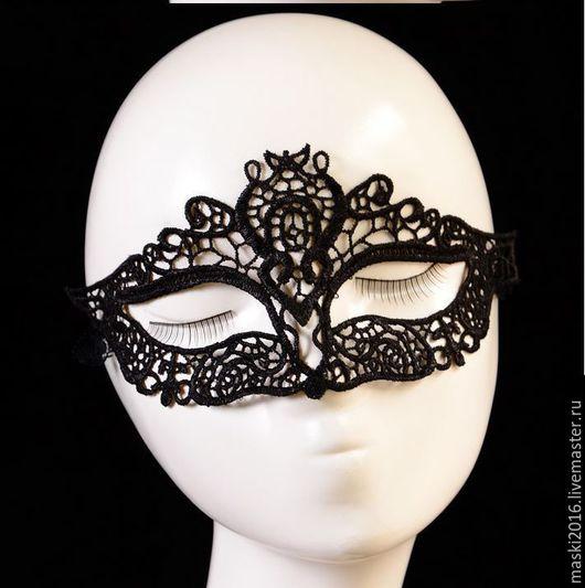 Карнавальные костюмы ручной работы. Ярмарка Мастеров - ручная работа. Купить Кружевная маска Царица. Handmade. Маскарадная маска, ВЕЧЕРИНКА
