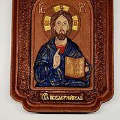 """Иконы ручной работы. Ярмарка Мастеров - ручная работа Икона """"Сын Божий"""". Handmade."""