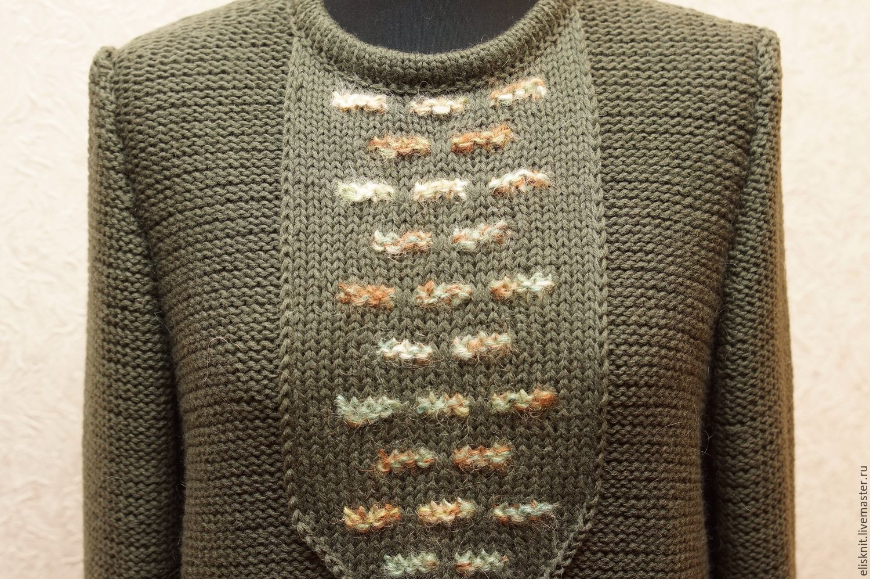 Вязанная одежда для женщины