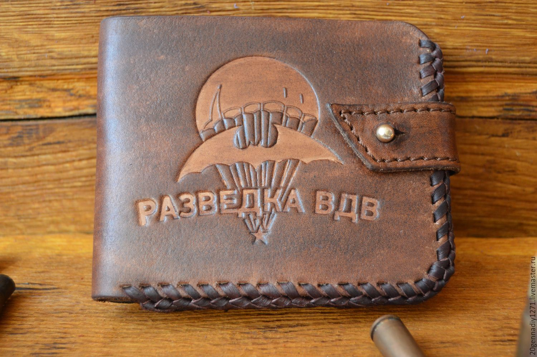 Wallet genuine leather 'airborne', Wallets, Ryazan,  Фото №1