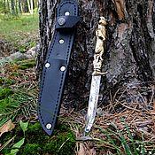 Сувениры и подарки handmade. Livemaster - original item Weapons: Knife camping Bear. Handmade.