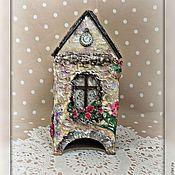 """Для дома и интерьера ручной работы. Ярмарка Мастеров - ручная работа чайный домик """"Лавандовый"""". Handmade."""
