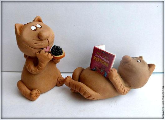 Куклы и игрушки ручной работы. Ярмарка Мастеров - ручная работа. Купить Как стать счастливым котом. Handmade. Коты, икра