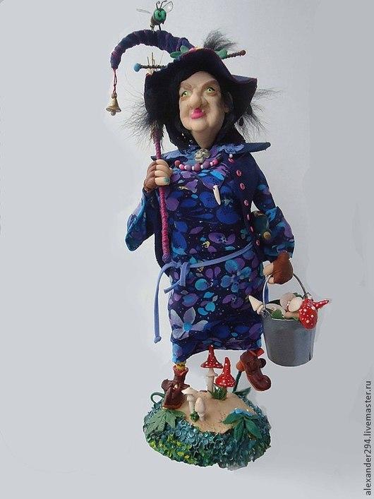 Коллекционные куклы ручной работы. Ярмарка Мастеров - ручная работа. Купить ВИККИ Экспресс доставка. Handmade. Разноцветный, горакукла