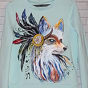 Одежда handmade. Livemaster - original item Sweatshirt sweatshirt