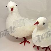 Материалы для творчества ручной работы. Ярмарка Мастеров - ручная работа Свадебные голуби белые. Handmade.