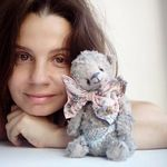 """Teddy plush"" от Слуцкой Елены - Ярмарка Мастеров - ручная работа, handmade"