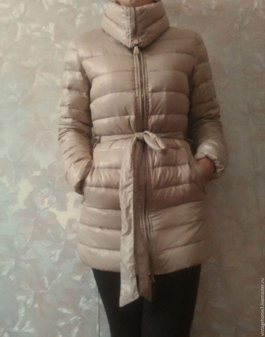 Одежда. Ярмарка Мастеров - ручная работа. Купить стеганая куртка Guess by Marciano. Handmade. Бежевый, купить не дорого